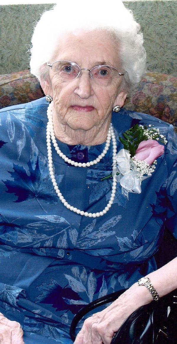 Ethel Letha Vessey (nee Horne)