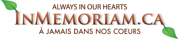 InMemoriam.ca: Always in our Hearts