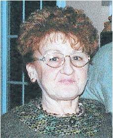 Dolores Savoie (Née Bélair)