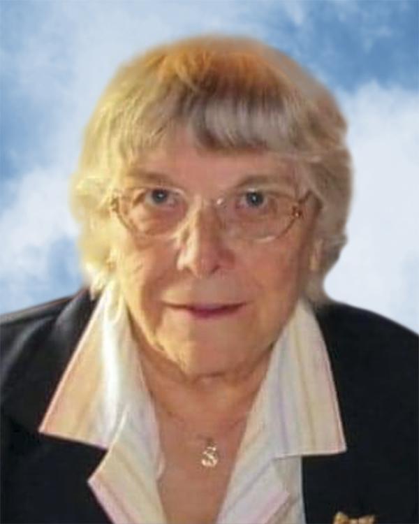 Yvette Meunier (Née Levreault)