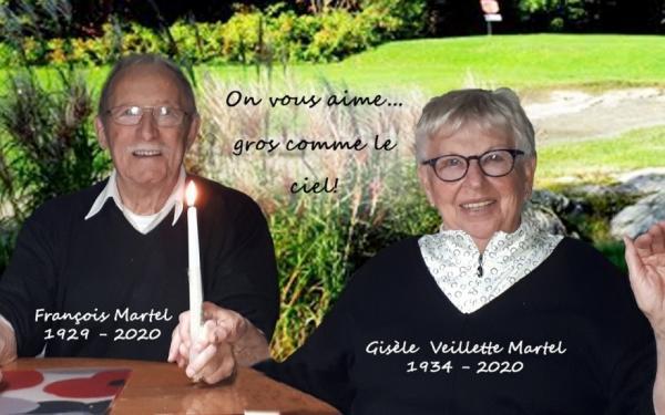 Gisèle et François Martel